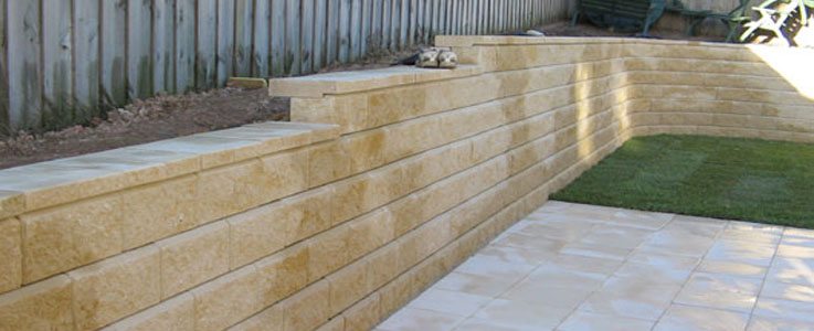 Garden Wall Installation and Fitting